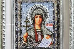Образа в каменьях икона Святая Татьяна - готовая работа