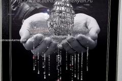 Образа в каменьях Паруса Надежды - готовая работа
