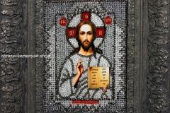 Господь Вседержитель Образа в каменьях - готовая работа