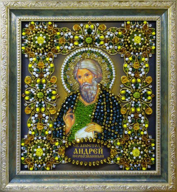 Хрустальные грани Образ Святого Андрея Первозванного арт. Ии-06