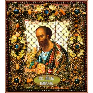 Образа в каменьях икона Святой апоcтол Павел арт. 77-и-42